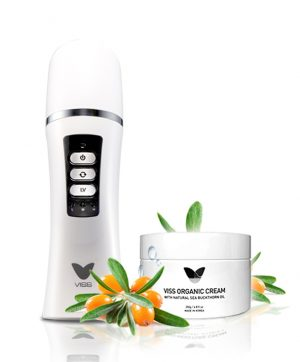 Viss RF Skin Tightening Massage Therapy System with Organic cream(For sensitive skin type)