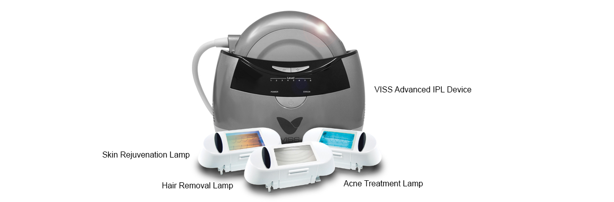 At Home Permanent Ipl Laser Hair Removal Device Vissbeauty